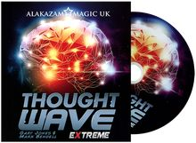 Thought Wave Extreme (Props and DVD) by Gary Jones & Alakazam Magic - DVD