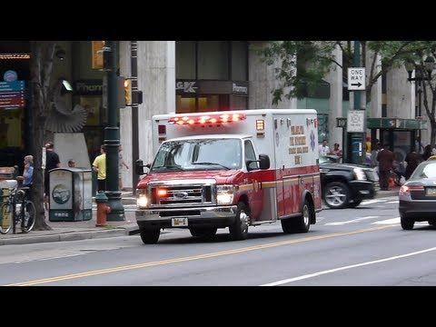 Philadelphia Fire Department Medic and Ladder Resp - YouTube