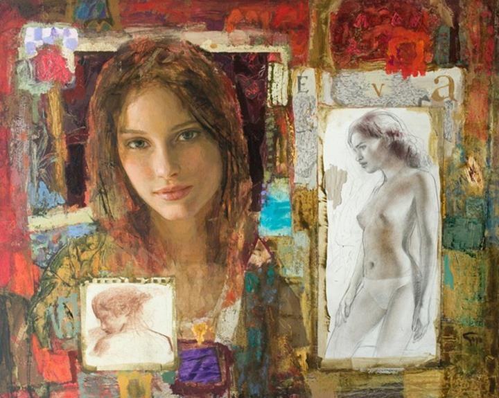 Goyo Dominguez 1960; Spanish-born British Romantic Realist painter