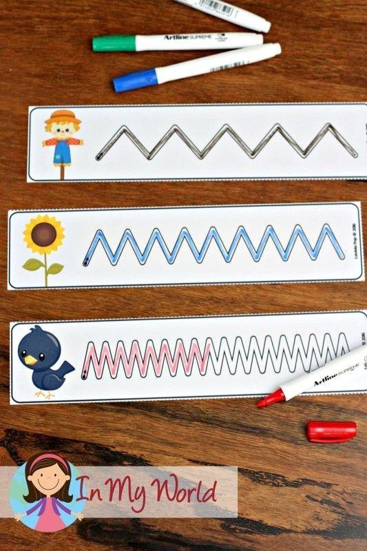 93 best arbeitsblätter images on Pinterest | Kindergarten, Preschool ...