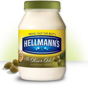 Mayonnaise Dressing With Olive Oil (FWI: Best Foods and Hellmann's the same company)