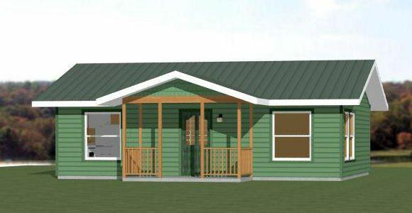 Details About 30x24 House 1 Bedroom 1 Bath 720 Sq Ft Pdf Floor Plan Model 3b Building Plans House
