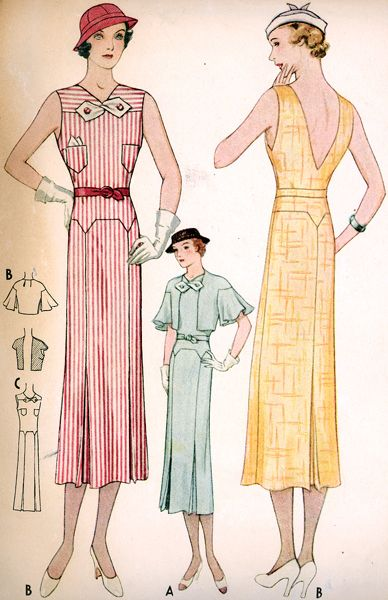 887 best 1930s Fashion images on Pinterest | 1930s fashion, 30s ...