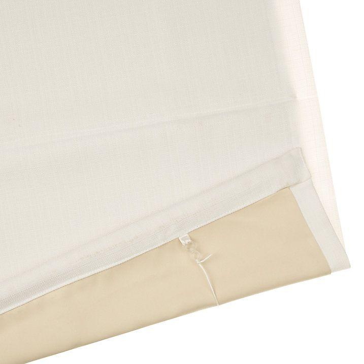 Buy John Lewis Croft Collection Shawford Blackout Roman Blind, White, W60cm Online at johnlewis.com