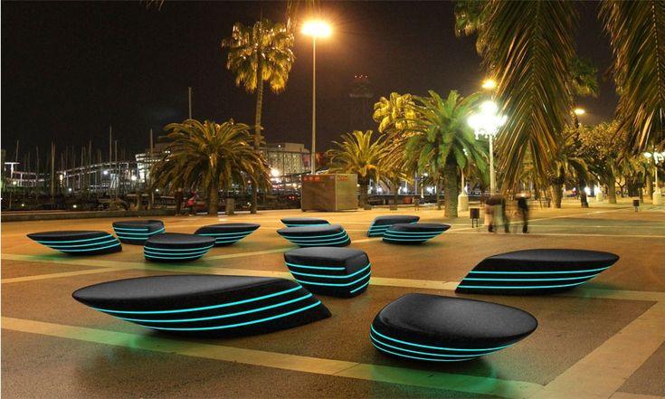 Wzorowe meble miejskie – inspiracja prosto z Hiszpanii - Blog Komserwis