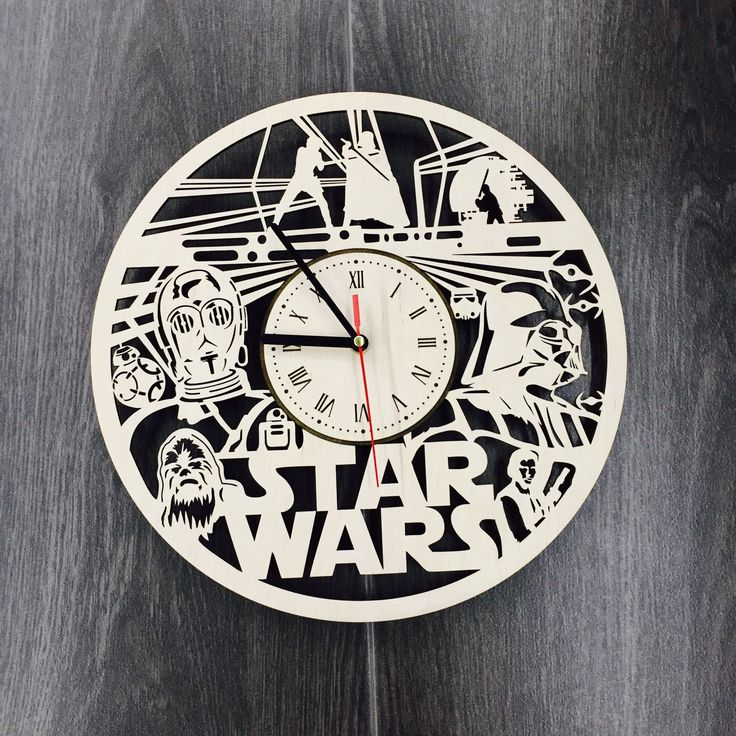 13 best star wars clocks images on pinterest gift gifts and presents star wars wall wood clock 3199 size 12 in 30 cm really cool gift fandeluxe Image collections