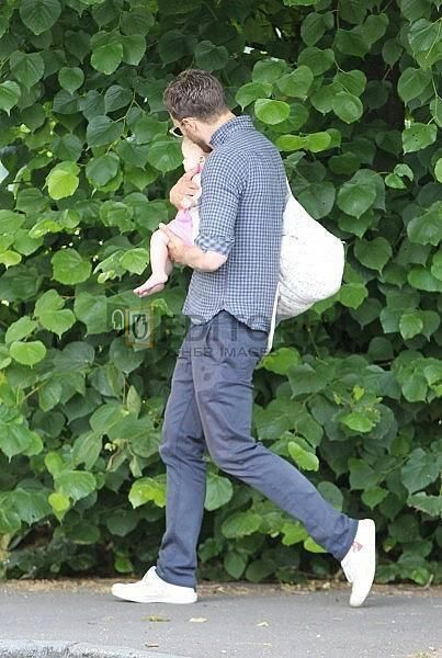Jamie Dornan & baby daughter