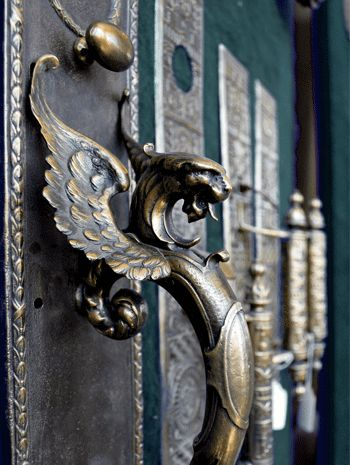 Antique Reproduction Griffin Motif Doorplate - Antique Hardware & 181 best Griffins \u0026 Sphinxes images on Pinterest | Griffins ...