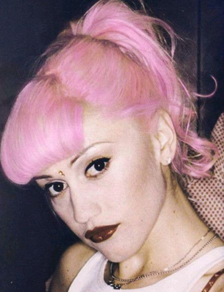 Never over Gwen's bindi wearing, pink-ponytailed 90s stage.