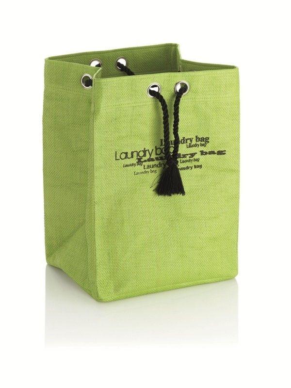 Wäschesack Tayler in grün.  Schmutzwäsche sammeln mal anders!  Der Wäschesack Tayler punktet bereits mit seiner ansprechenden Optik - mal anders als die üblichen Wäscheboxen.  Durch die Tragekordeln lässt sich der Wäschesack optimal transportieren.  Zudem lässt sich der Wäschesack falten, somit können Sie den Sack wunderbar in jede Ecke verstauen.  Eben ein echtes Schmuckstück für Ihr Zuhause!  Weitere Modelle im Shop.  #moebel #möbel #moebelpower #moebeltraeume #moebel_power #wäsche…