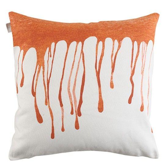 Drip cushion from Linum | Modern cushions | Design Katarina Brieditis |Housetohome.co.uk.  #Cusions #Pillows