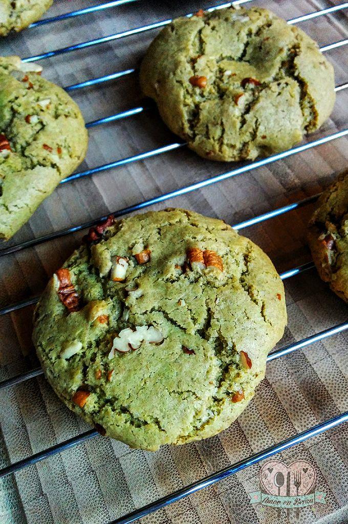 Galletas de té verde / té matcha