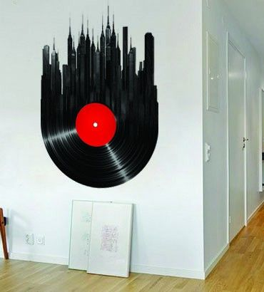 Streetwallz - Vinyl City Wall Decal, $75.00 (http://www.streetwallz.com/vinyl-city-wall-decal/)