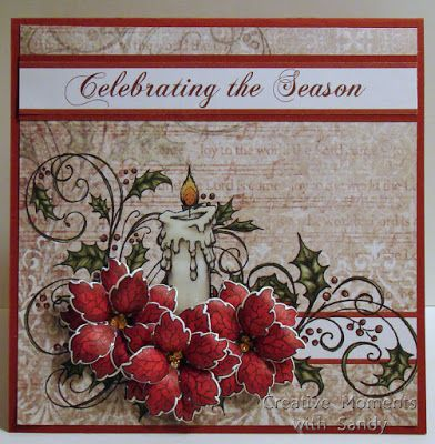Creative Moments With Sandy: Heartfelt Creations Celebrating the Season