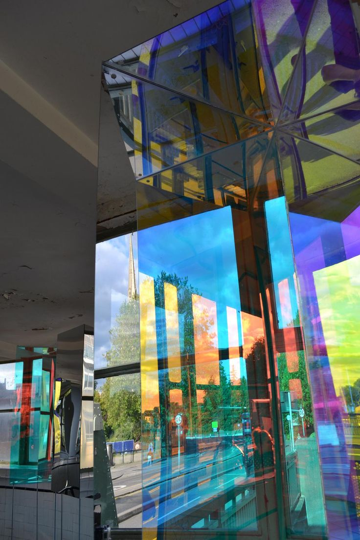 Dichroic delight of our new installation in the Bristol Control Room, by the youth @FCBStudios . #nearlyeverything