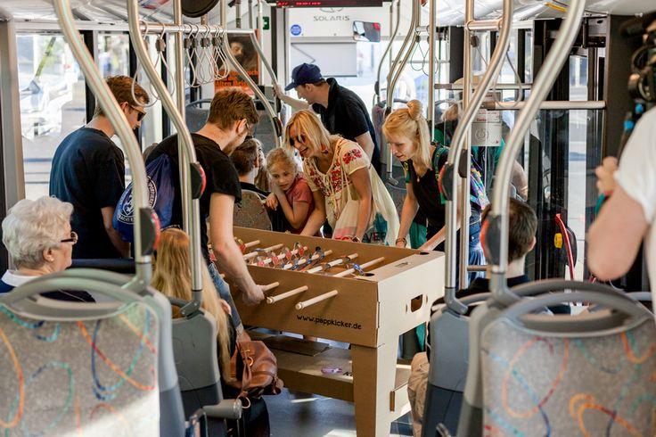 Kartoni - cardboard foosball table on Behance