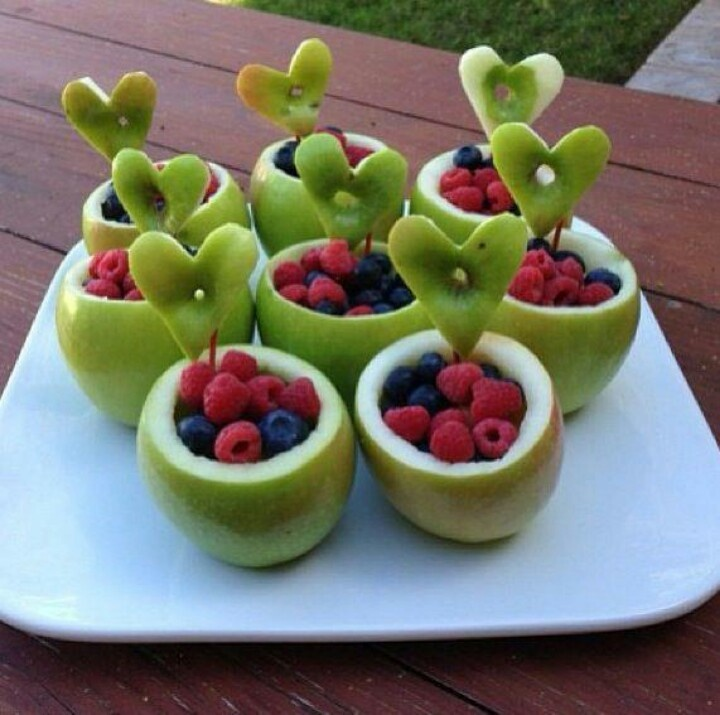 Apple snack cups...might need to make for preschool