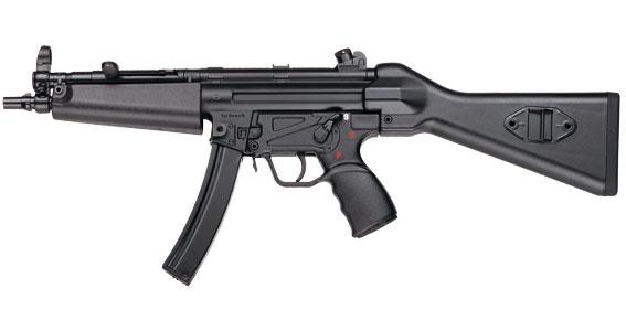 El MP5 (abreviatura de Maschinenpistole 5) es un subfusil de calibre 9 mm de diseño alemán, desarrollado en los años 1960 por un equipo de ingenieros del fabricante de armas Heckler & Koch (H) de Oberndorf am Neckar, en Alemania Occidental. La compañía, motivada por el éxito del fusil automático G3, desarrolló una familia de armas ligeras consistentes en cuatro tipos de armas de fuego (todas basadas en el diseño del G3 y su principio de funcionamiento), donde el primer tipo fue calibrado…