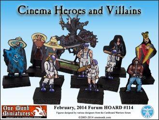 Cardboard Warriors Forum Hoard 114 - http://www.braveadventures.com/news/2014/03/10/cardboard-warriors-forum-hoard-114/