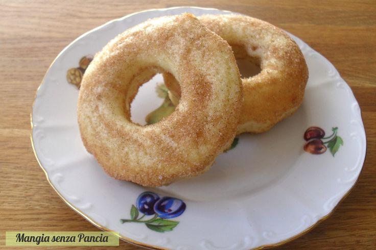 Ciambelle donut al forno, Mangia senza Pancia