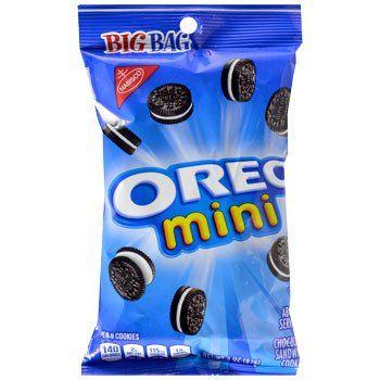 Nabisco Oreo Mini Bite-Size Cookies, 3-oz. Bag