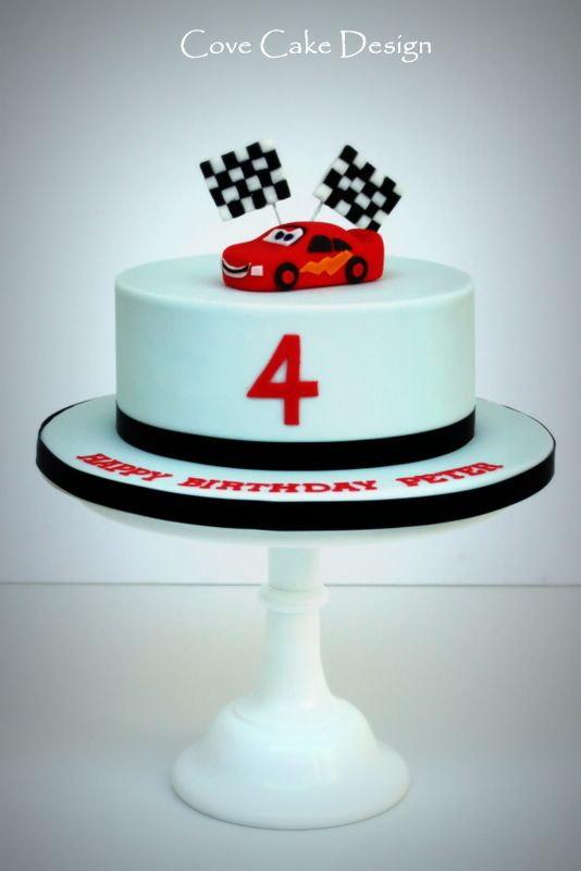 Disney Cars Lightning Mcqueen Cake Birthday Cakes In 2019
