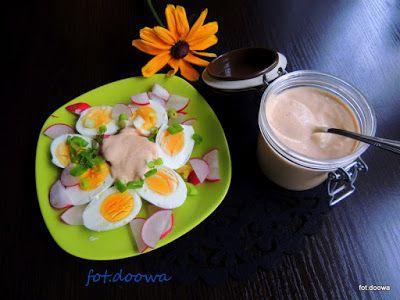 Moje Małe Czarowanie: Pomidorowy majonez domowej roboty