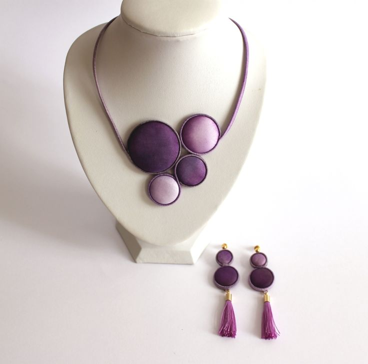 Hand dyed silk jewelry by Koria Design  https://www.etsy.com/listing/179145315/hand-painted-silk-statement-necklace?ref=shop_home_active_10 www.facebook.com/koriadesign