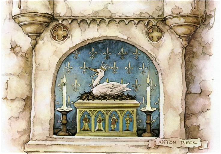 Duck - Tales of the Efteling by Martine Bijl and Anton Pieck