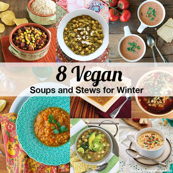 8 Warming Vegan Soups and Stews for Winter