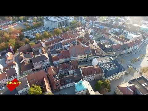 Schweinfurt Von Oben Youtube Schweinfurt City Photo City
