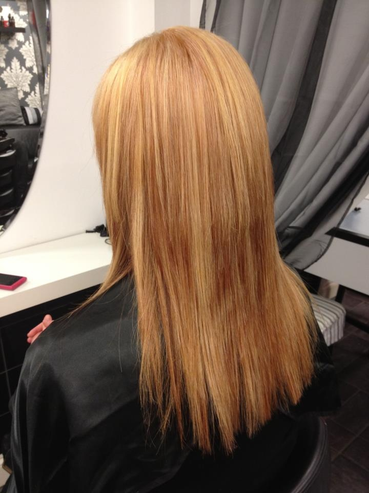 Stephy's Lady Millions Of Light Blonde Highlights