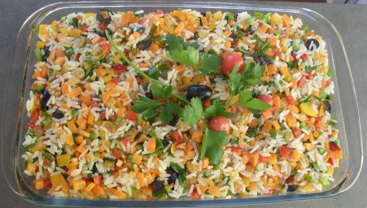 Arroz Festivo | Saladas | Receitas Gshow