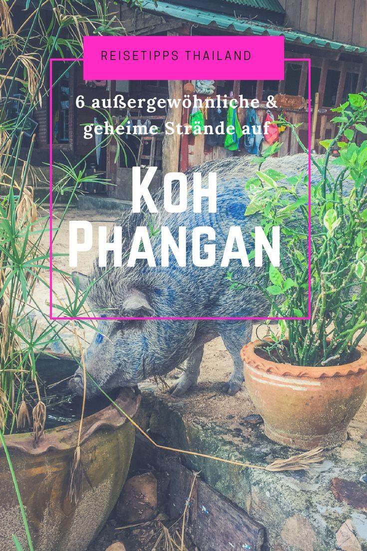 6 exceptional & secret beaches on Koh Phangan