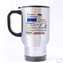 5 Seconds Of Summer Amnesia Quotes Liryc Travel Mug