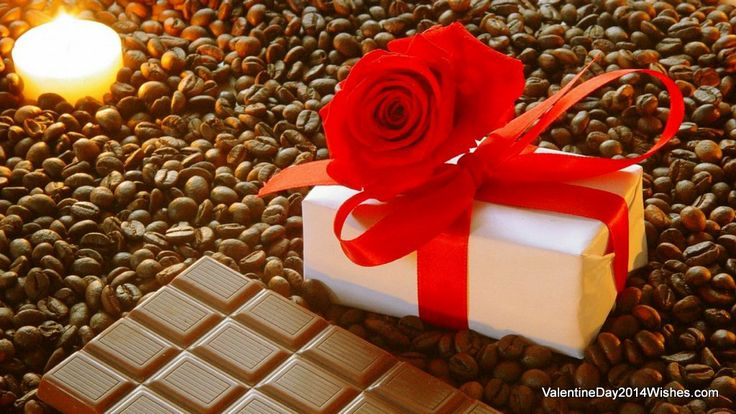 Chocolate Day Wallpaper HD - A Gift of Chocolate [ValentineDay2014Wishes.com]