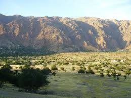 Afella Ighir  25km from Tafraoute, trekking to, or around?