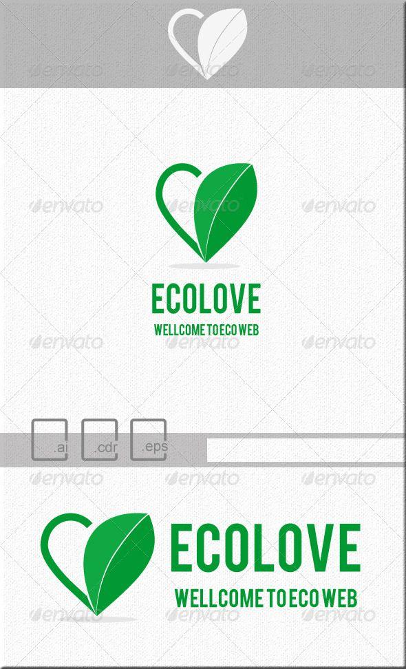 Ecolove Flat Ecology Logo