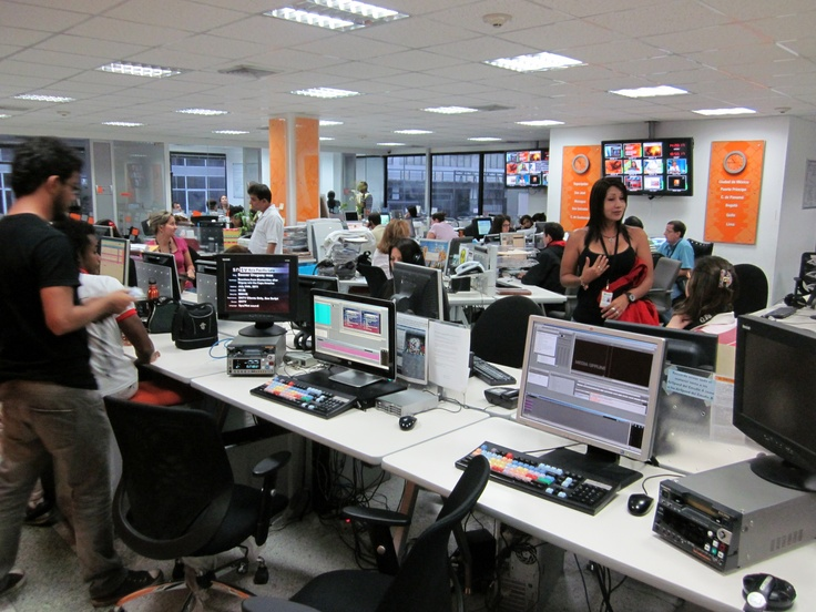 TeleSur Newsroom in Caracas (Venezuela)