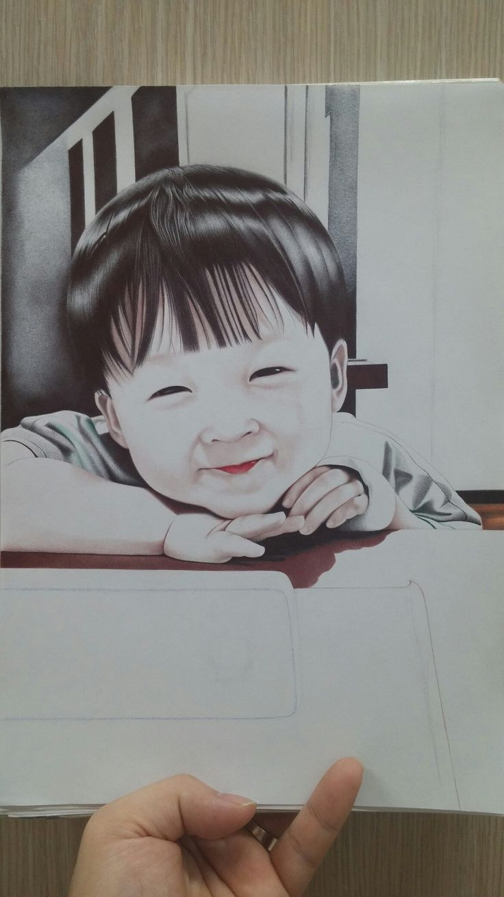 My son~^^ ball point pen art! 제 아들 볼펜화 그림 입니다^^ 배경만 마무리 지으면 끝~!!