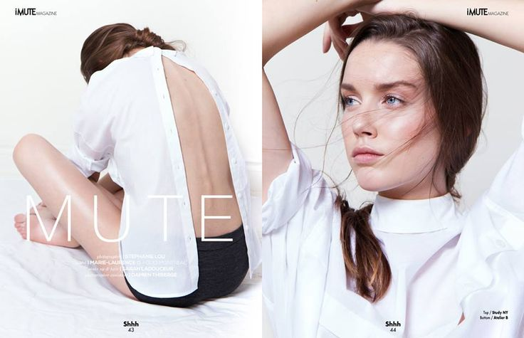 MUTE Editorial - iMute Magazine Summer Issue #11 2015 Photographer | Stephanie Lou Model | Marie-Laurence @ Folio Montreal Make up & Hair | Sarah Ladouceur Makeup Artistry Photo Assistant | Damien Thiberge