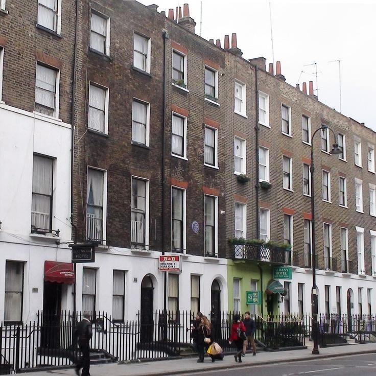 Tavistock Place, Bloomsbury, London. Used to live here