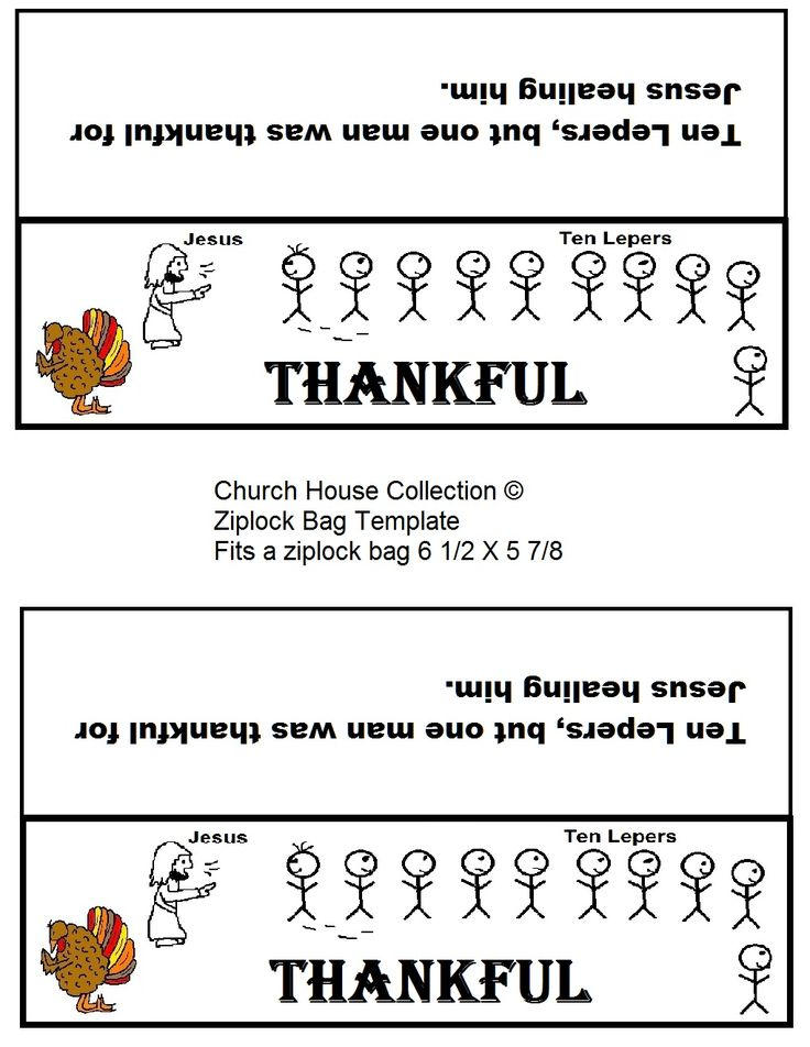 Thanksgiving Lesson For Childrens Church