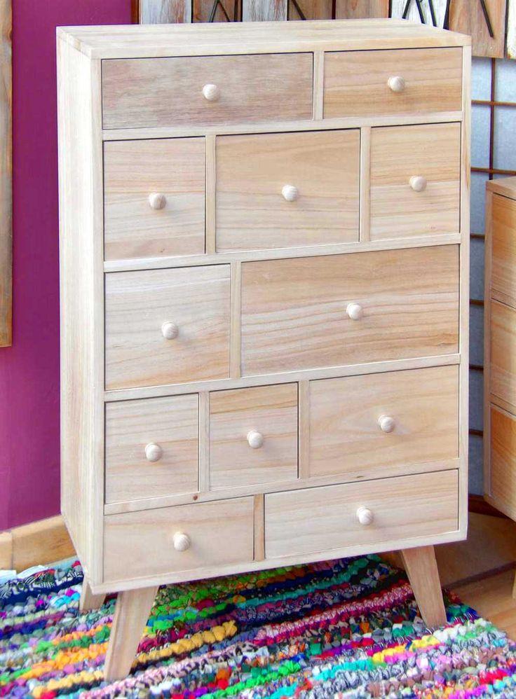 Las 25 mejores ideas sobre cajoneras de madera en - Cajonera de madera ...