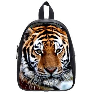 Custom School Backpack (Large) Tiger looking for love