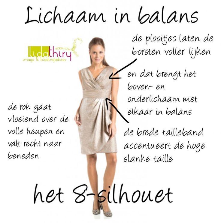 De ideale jurk voor het 8-silhouet - lichaam in balans
