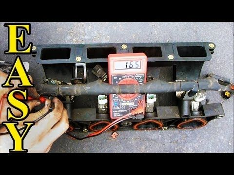 How to Check Fuel Injector Resistance with a Multimeter - YouTube