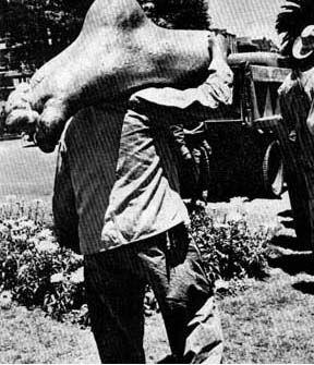 Sobre el significado y la historia del Ángel de la Independencia 28/07/1957