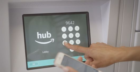 Amazon launches The Hub parcel delivery lockers for apartment buildings