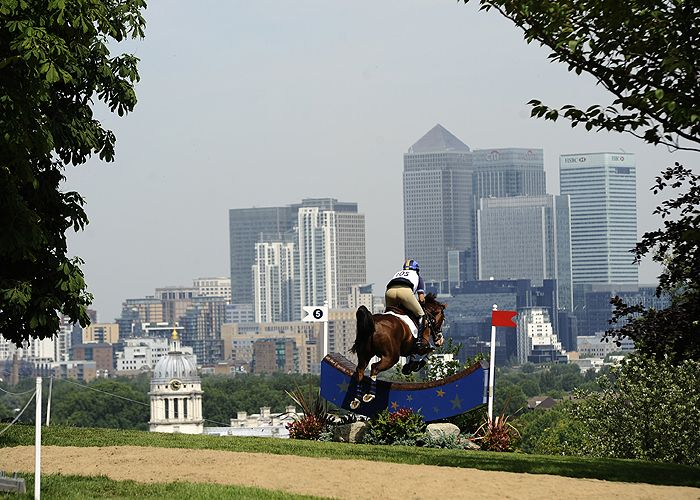William Fox-Pitt and Gaucho. Love all the photos of the Greenwich venue for London 2012.